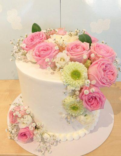 Nr.107-Blumentorte-Hochzeit/Verlobung