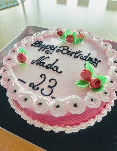Nr.325-26cm-Geburtstagstorte
