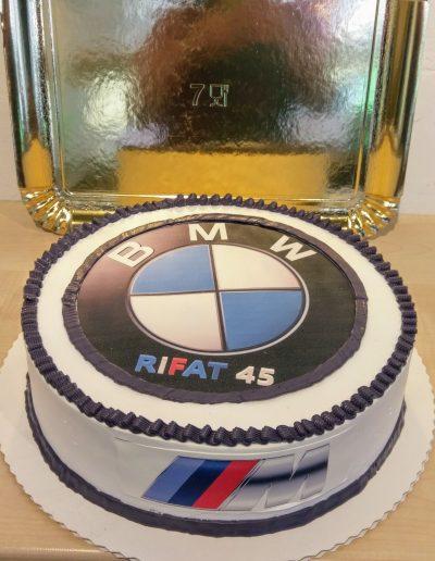 Nr.702-26cm-Torte-BMW